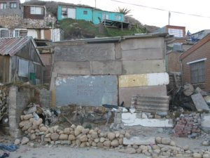 Hangberg resident\'s shack faced with eviction